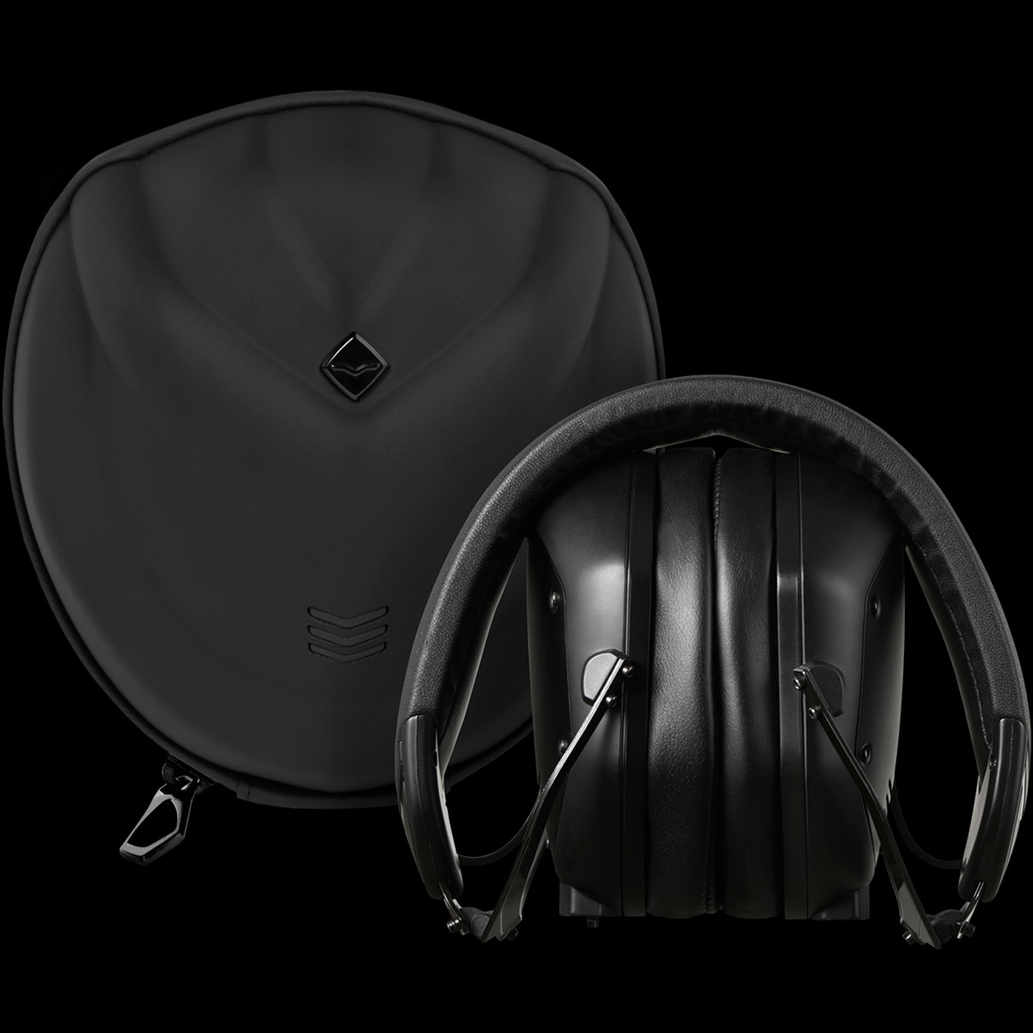Folded Crossfade M-100 Master with its protective travel carry case