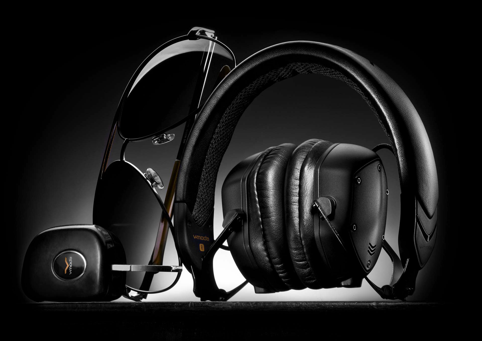 Folded Black XS On-Ear Headphones