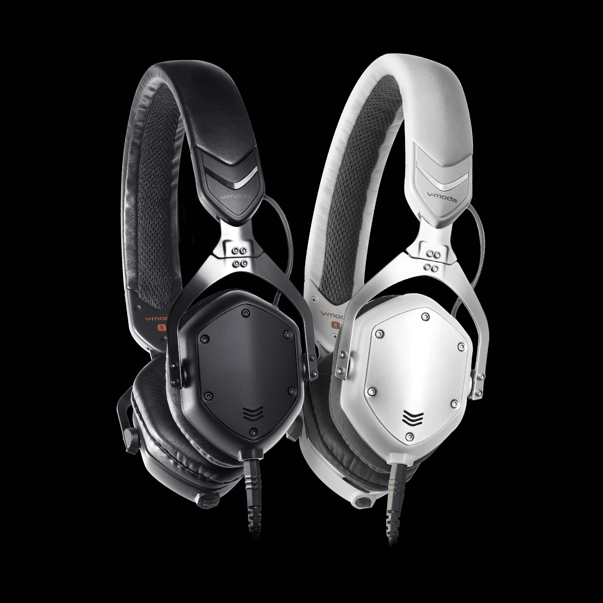 XS On-Ear Headphones in Black and White