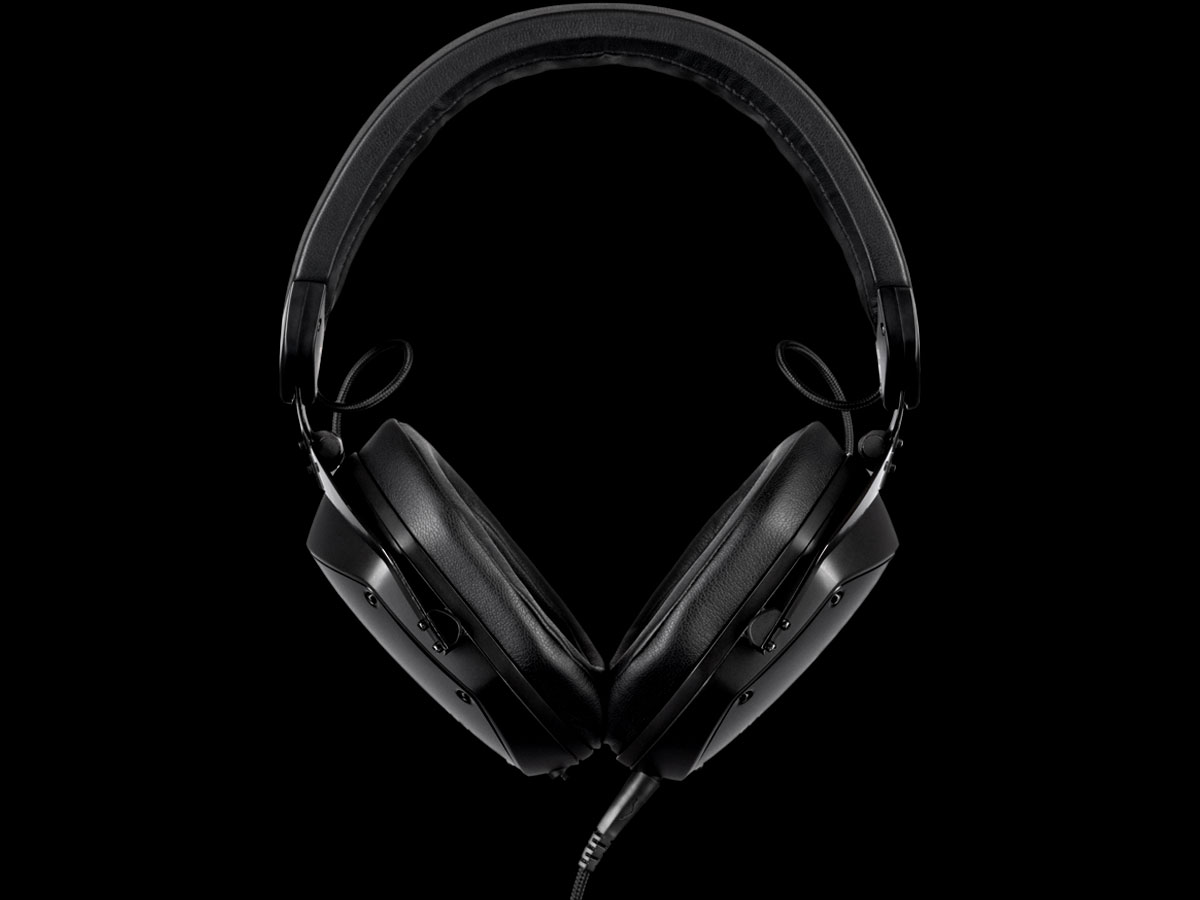 M-200 showing the large earcups, large memory foam cushions and re-designed headband